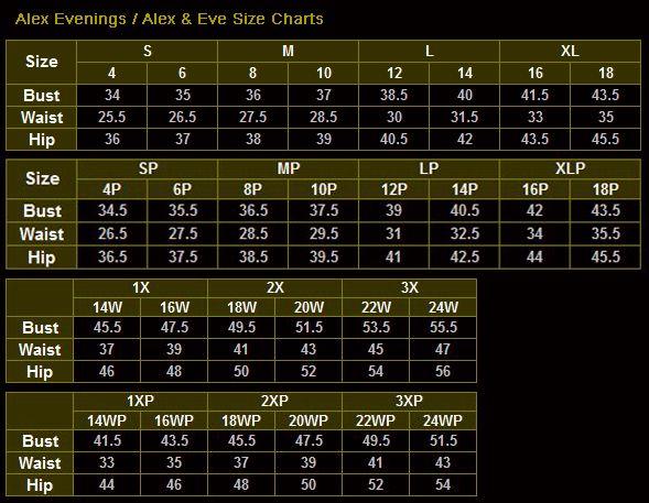 Pillowcase Dress Measurement Chart Alex Evenings 135388 Matte Jersey Tea Length Dress With Beaded Detail Tea Length Dresses Alex Evenings Bride Clothes