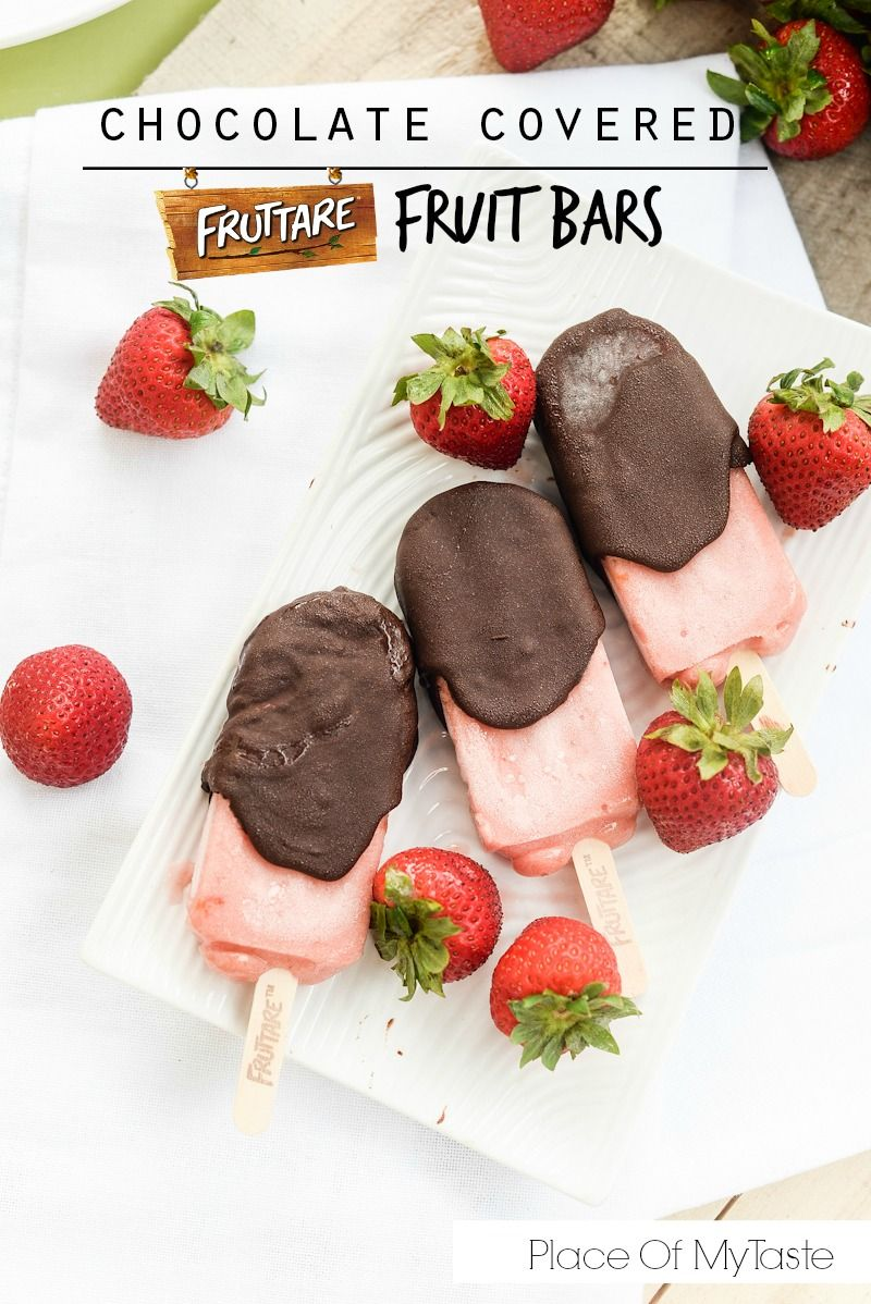 Chocolate Covered Fruttare Fruit bars- Place Of My Taste #itsallgood #sponsor