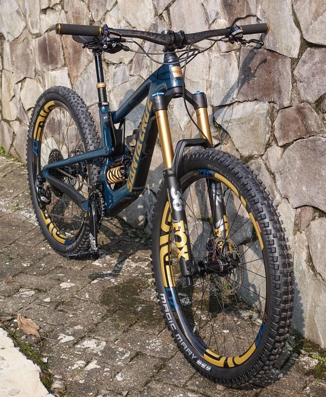 Beauty of black and gold  Fol… | Mountain Bikes | Downh…