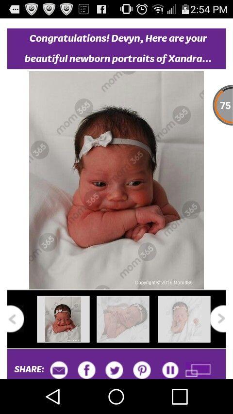 My baby girl Xandra Renae ❤❤