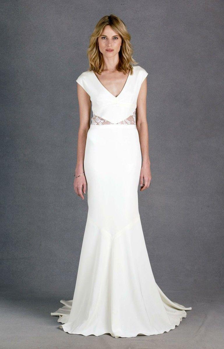 Nicole Miller Kimberly Bridal Gown | A Modern Wedding | Pinterest ...
