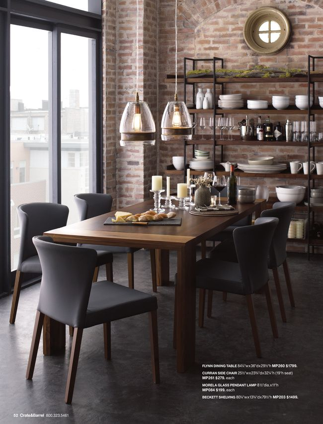 Lamps Diningtable CoffeeTable Crate And Barrel Morela Glass Pendant Lamp