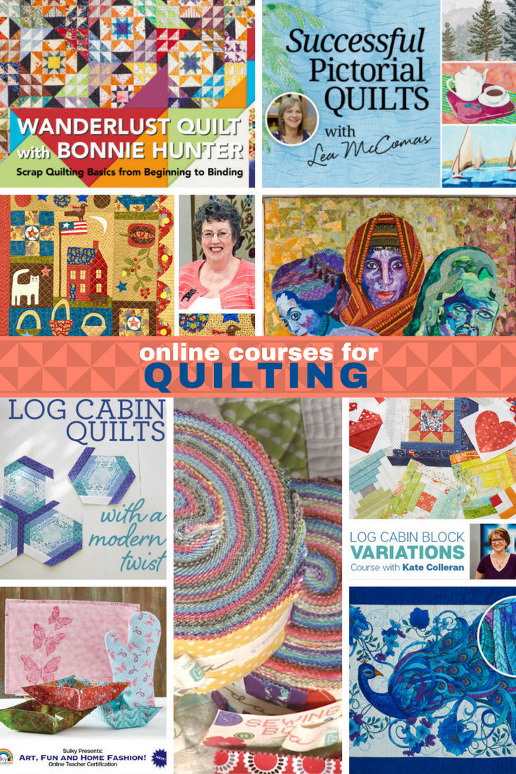 Online Quilting Classes Are So Helpful Step By Step Tutorials From