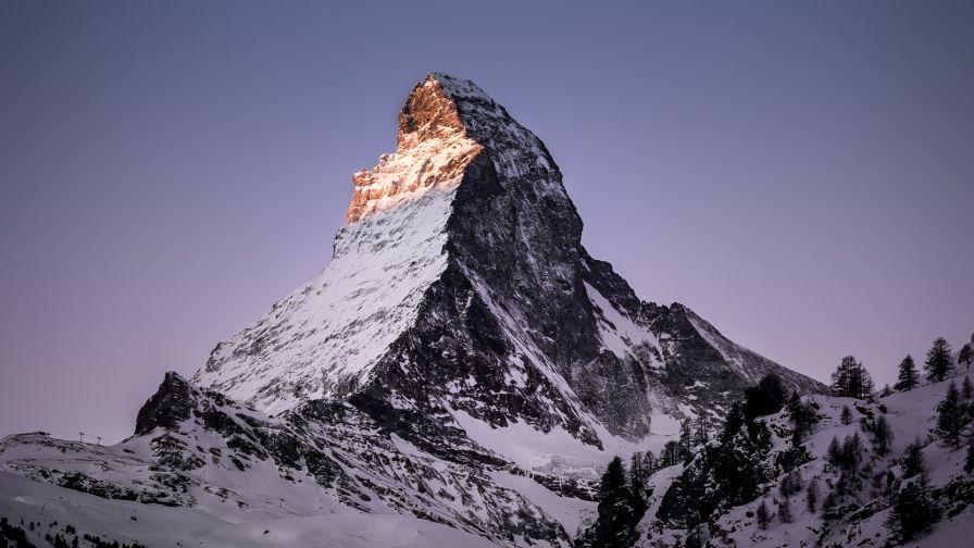Switzerland snowy mountain HD Wallpaper | Places in 2019 | Snowy