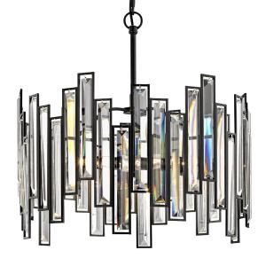 Fifth and main lighting madison 18 in 3 light aged bronze fifth and main lighting madison 18 in aged bronze chandelier with crystal prisms mozeypictures Gallery