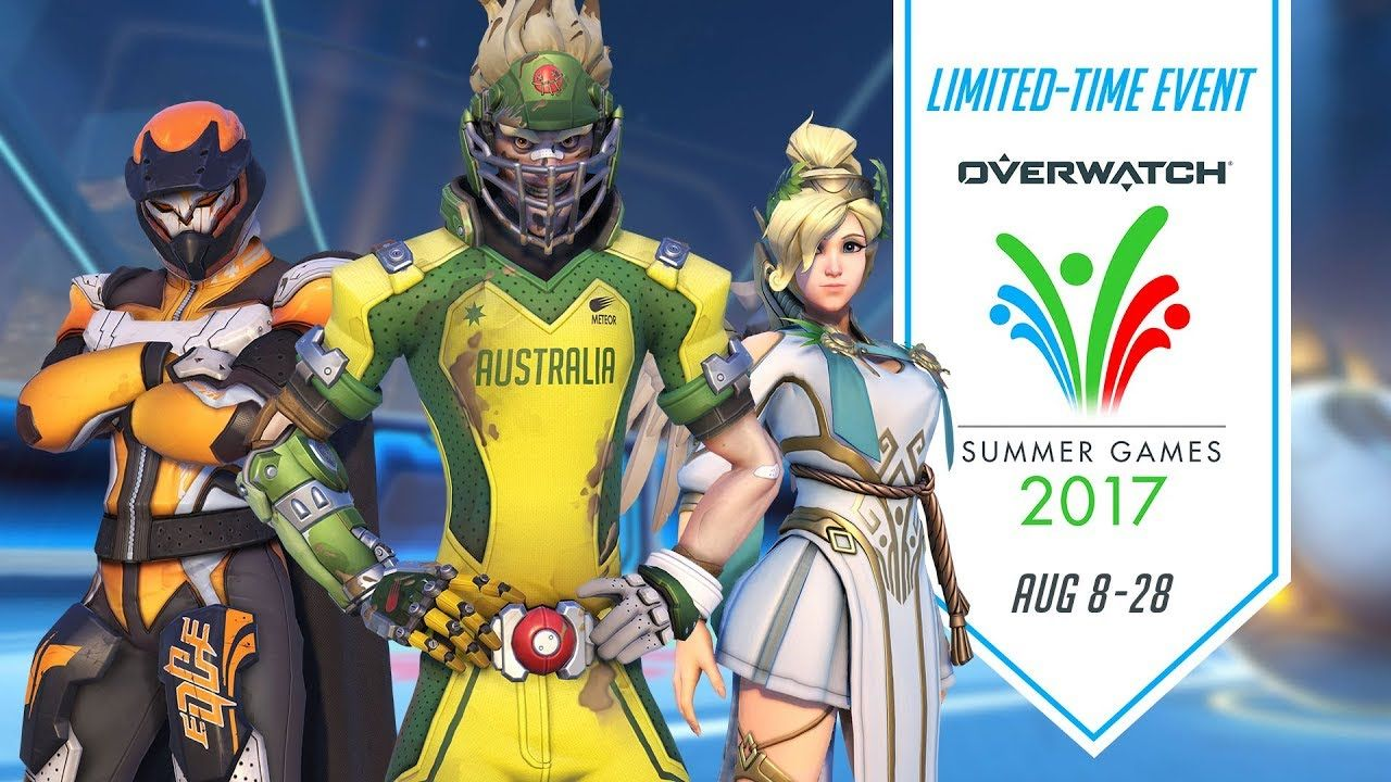 Overwatch just kicked off its Summer Games event Summer