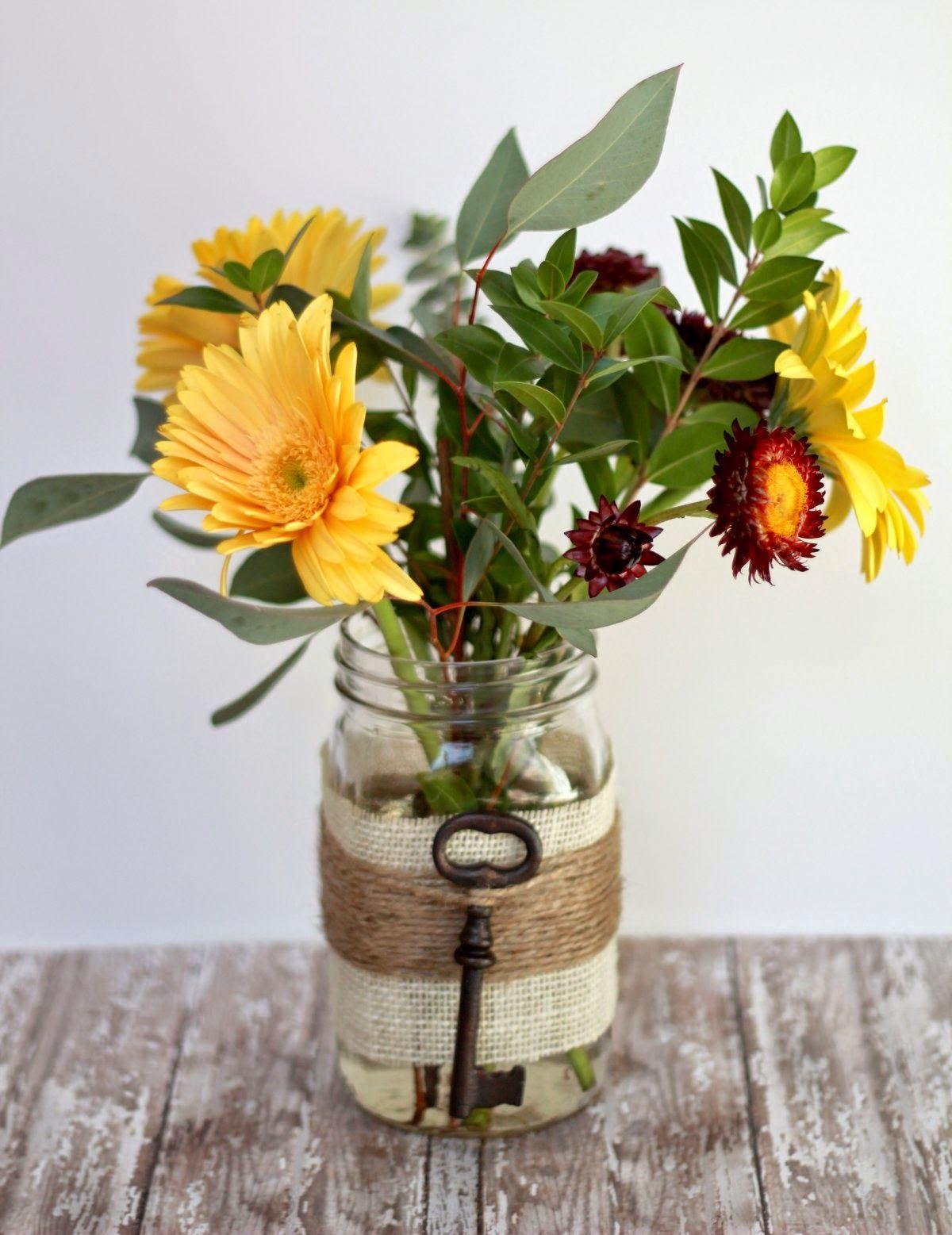 mason jar craft for home decor ~ Creative Art and Craft Ideas