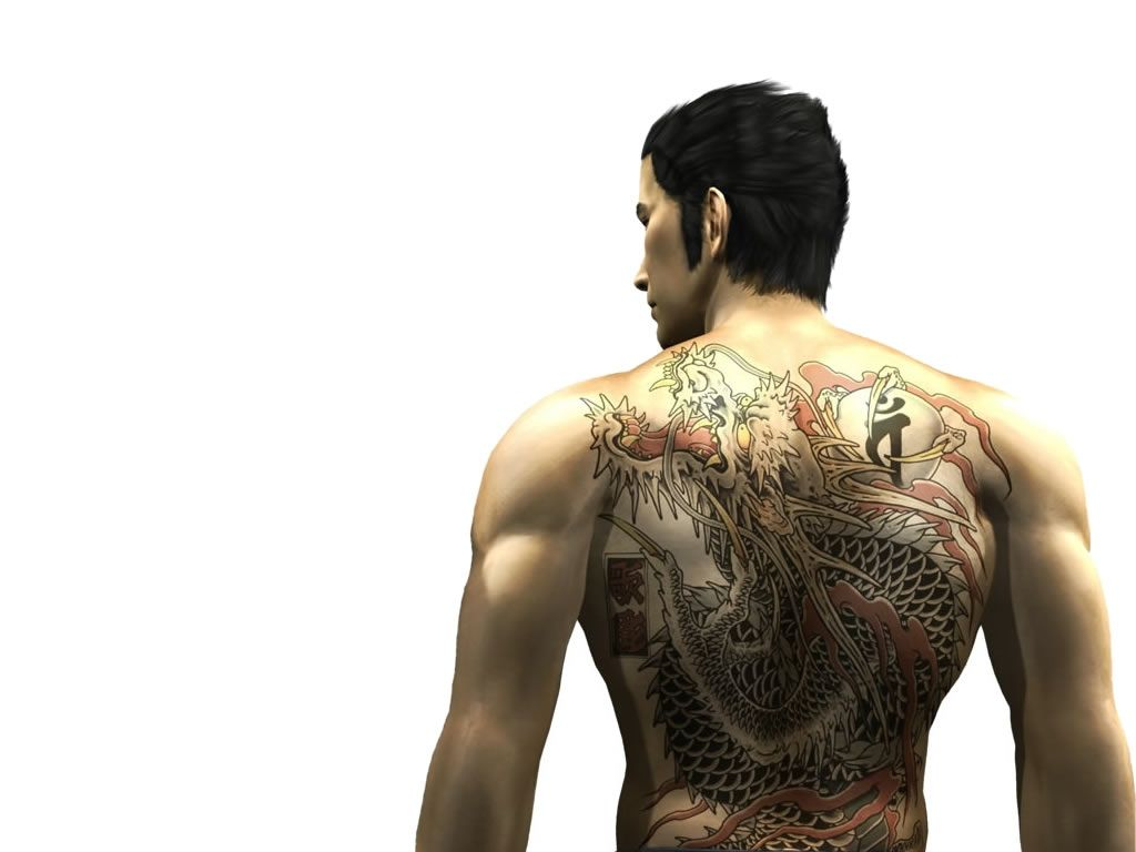 Kazuma Kiryu Yakuza Tattoo Dragon Tattoo Tattoo Designs Men