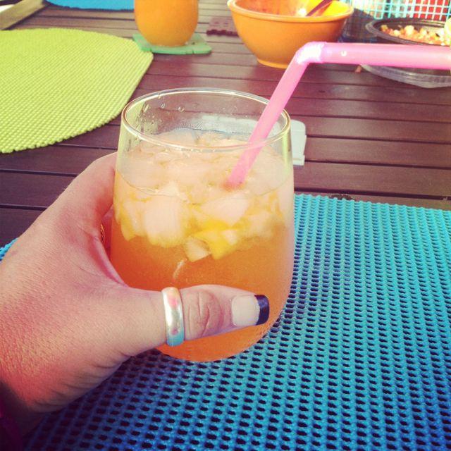 Orange Dreamsicle* Whipped Cream Vodka + Orange Soda