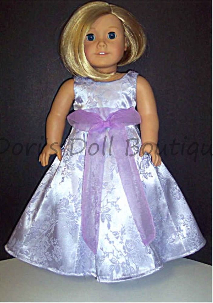 """Lavender Sandal Shoes made for 18/"""" American Girl Doll Clothes"""