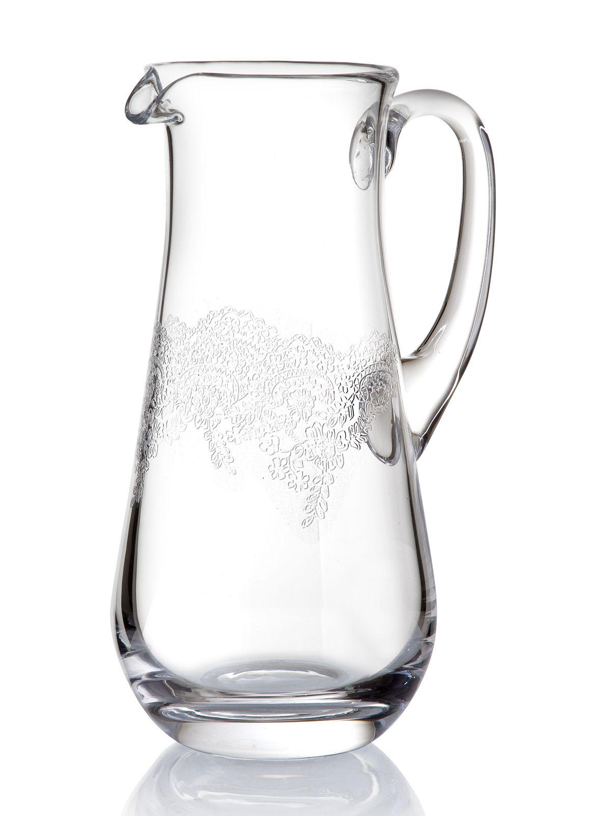 grace sürahi  water pitcher bernardo tabledesign glass  magic  - grace sürahi  water pitcher bernardo tabledesign glass