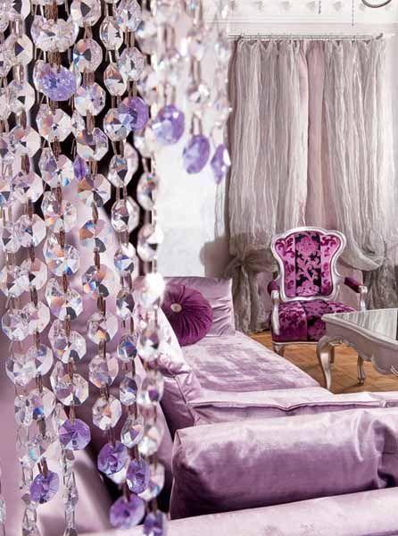 silver, fuschia, aurora borealis, lavender, velvet