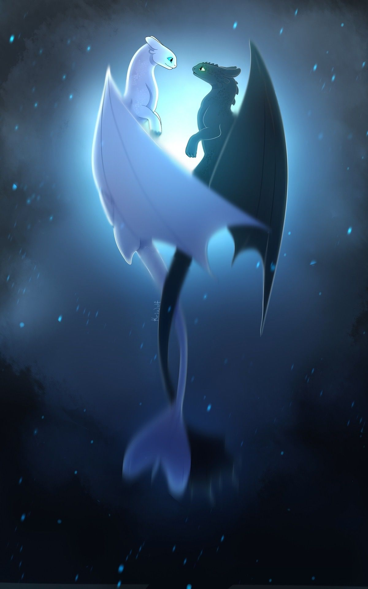 Cute Toothless And Light Fury : toothless, light, Kailie, Butler, Train, Dragon, Dragon,, Wallpaper, Iphone,