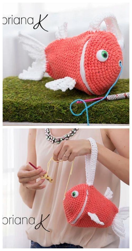 The Yarn Buddy Bag Free Crochet Pattern & Paid