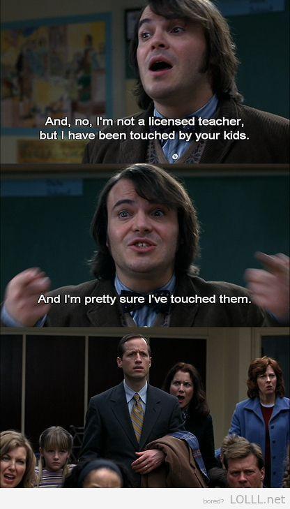 School Of Rock Movie Quote | funny-movie-quotes-school-of ...