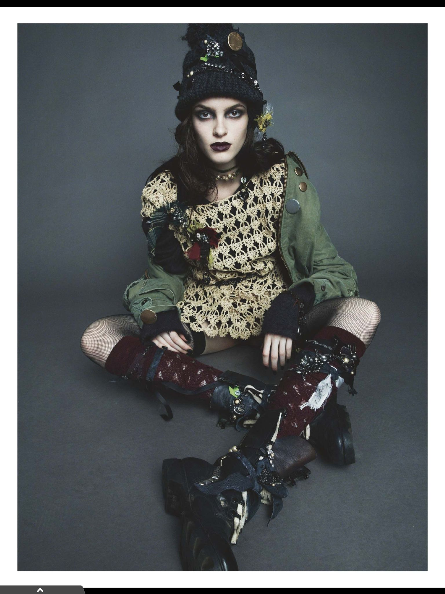Provocative 90s Grunge Editorials Grunge Editorial And