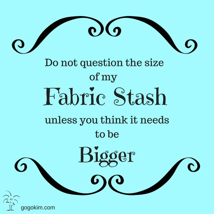 My Go-Go Life: How Big Is Your Fabric Stash? | Quilting Jokes ... : quilting jokes - Adamdwight.com