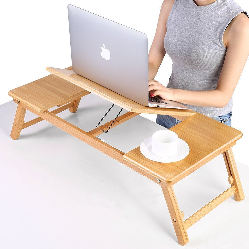 Smart Bed Sofa Portable Table Foldable Coffee Small Desk Folding Adjustable Tray