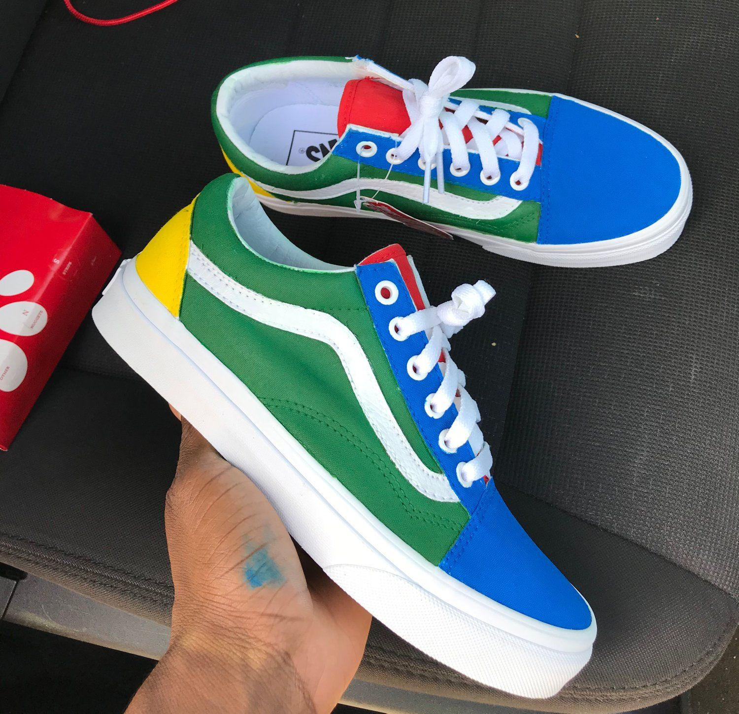 3fa7a03782 Image of Yacht club custom vans