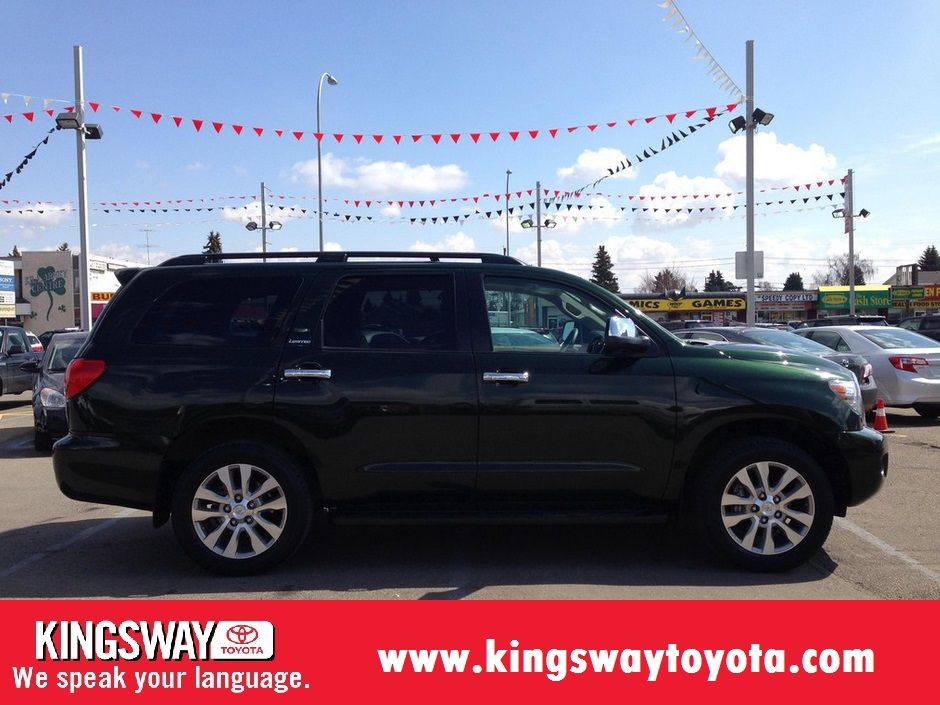 2010 Toyota Sequoia Limited 5 7l V8 4wd 6 Speed Automatic Toyota