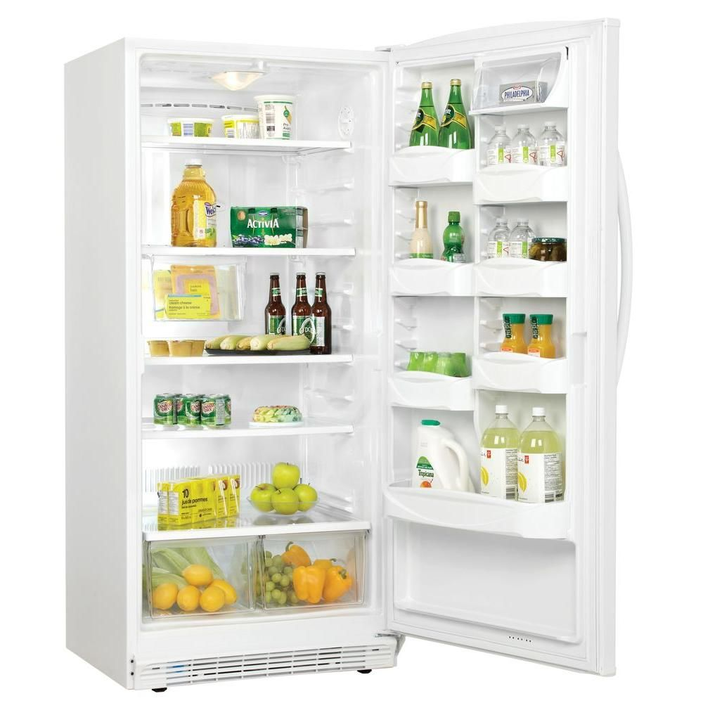 Danby 177 cu ft all refrigerator in whitedff501wdd at