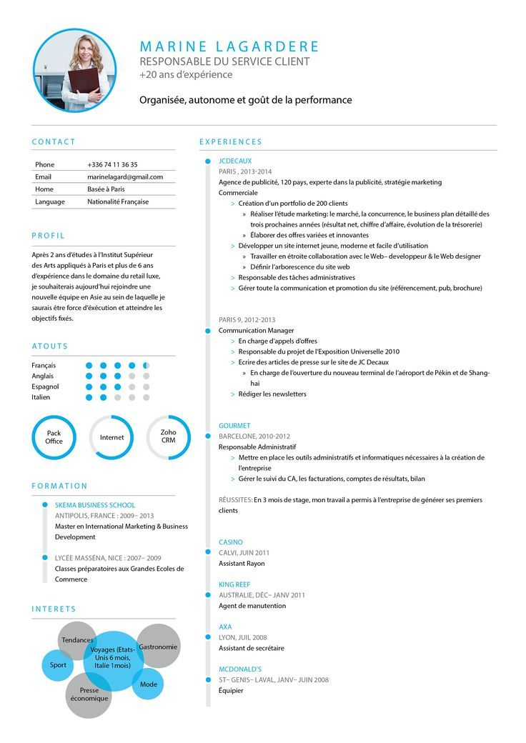 Cv Classique Cv Traditionnel Cv Parfait Cv Serieux Resume Design Template Creative Cv Resume Design