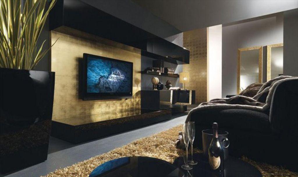 modern living room designs Yahoo