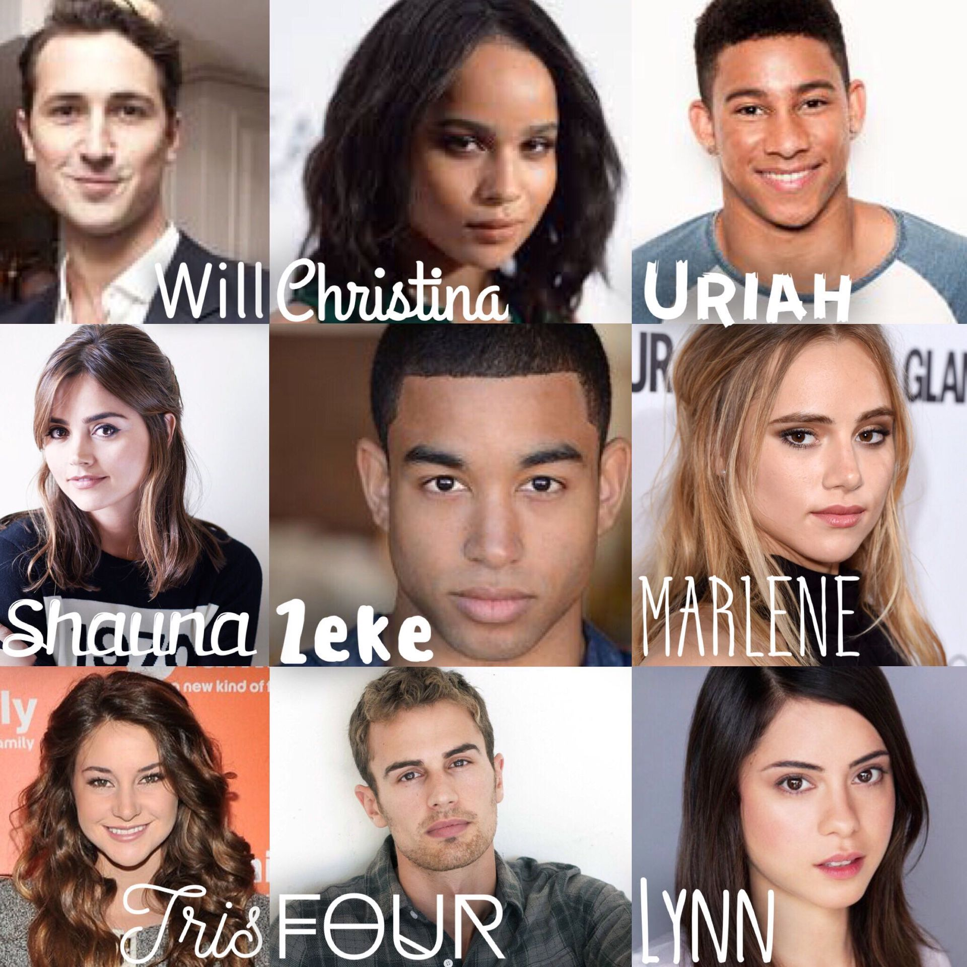WHY WASNT ZEKE AND URIAH IN THE FIRST MOVIE | Divergent ...