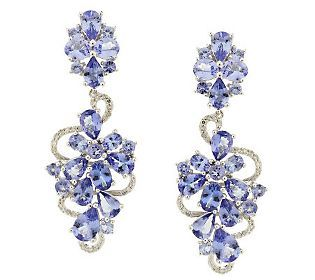 Tanzanite Earrings From Qvc