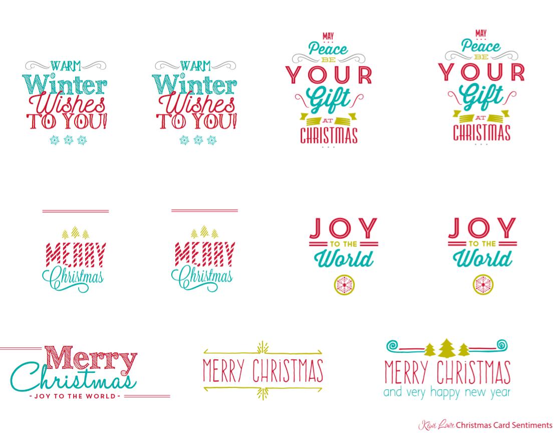 Free Xmas Card Making Ideas Part - 30: Free Christmas Card Printable | Kiwi Lane