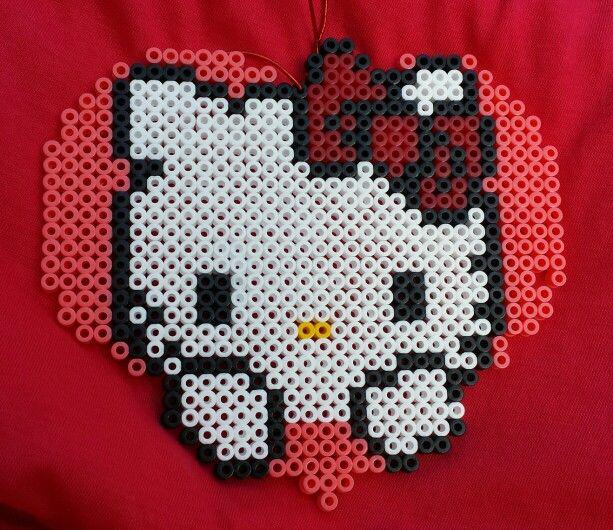 Hello Kitty de Hama Beads!!!
