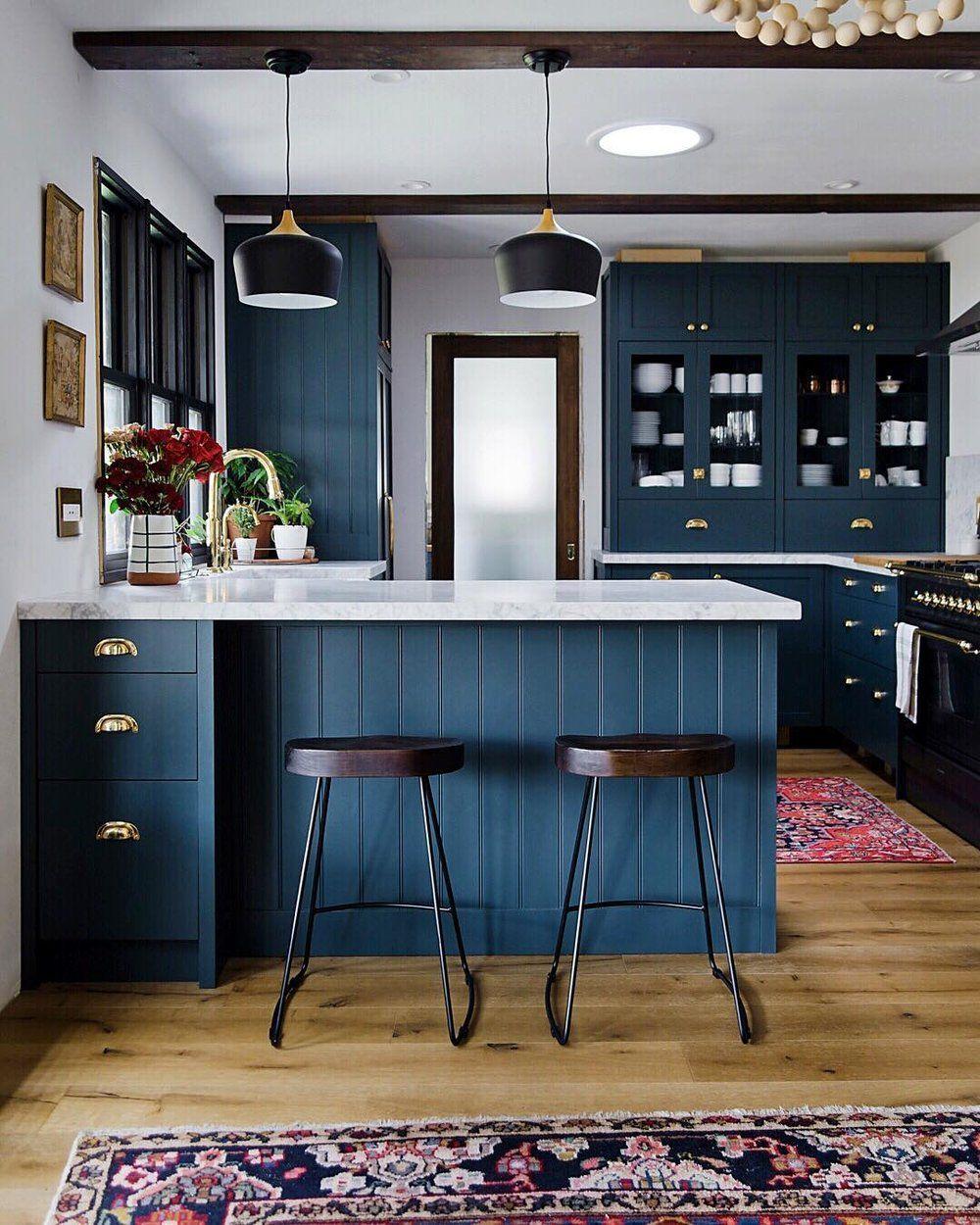 weekly roundup navy kitchen kitchen remodel kitchen colors on kitchen decor navy id=16390