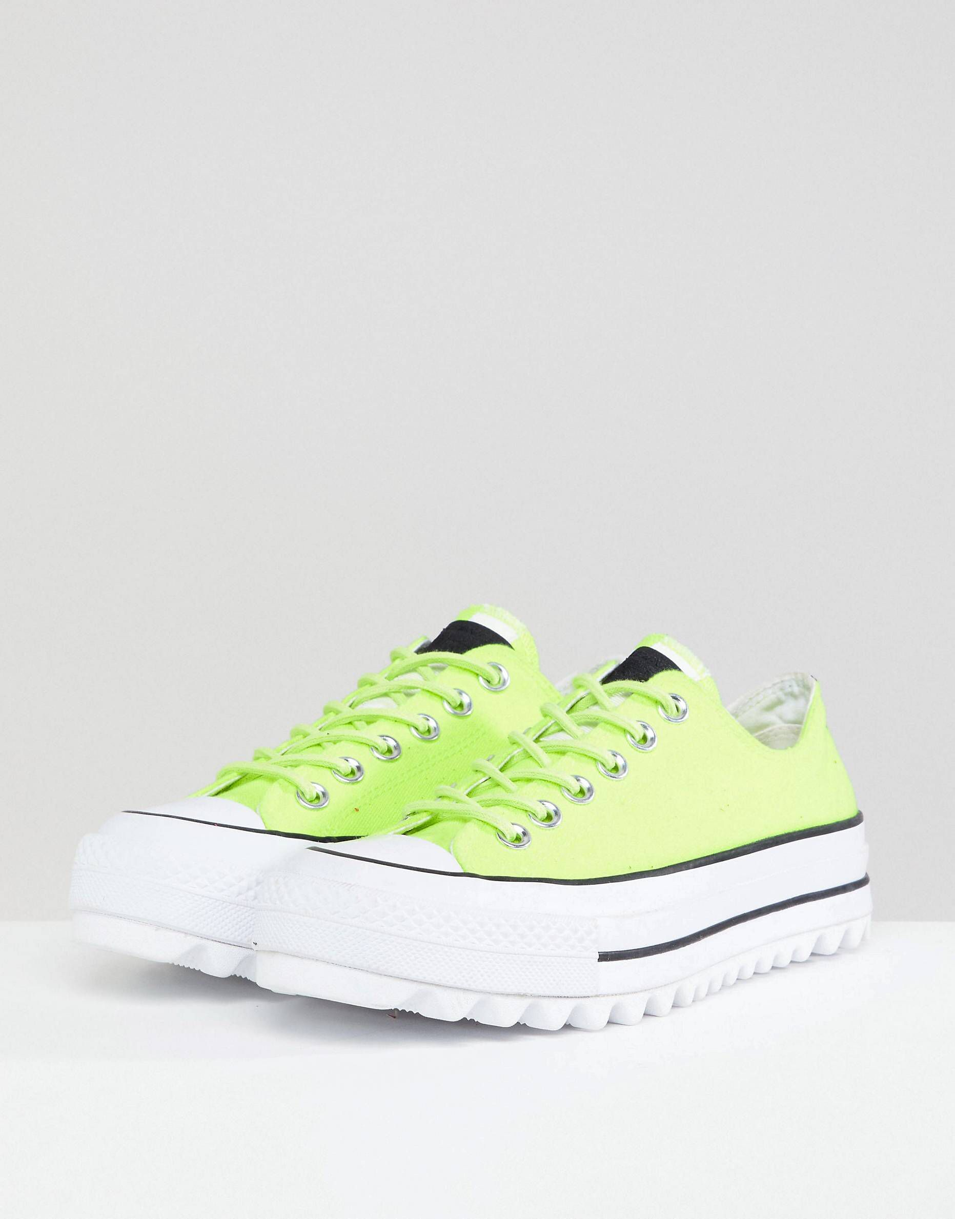 Converse Platform Ripple Trainers In Green in China online free shipping wide range of free shipping hot sale shopping online cheap price 28nkv