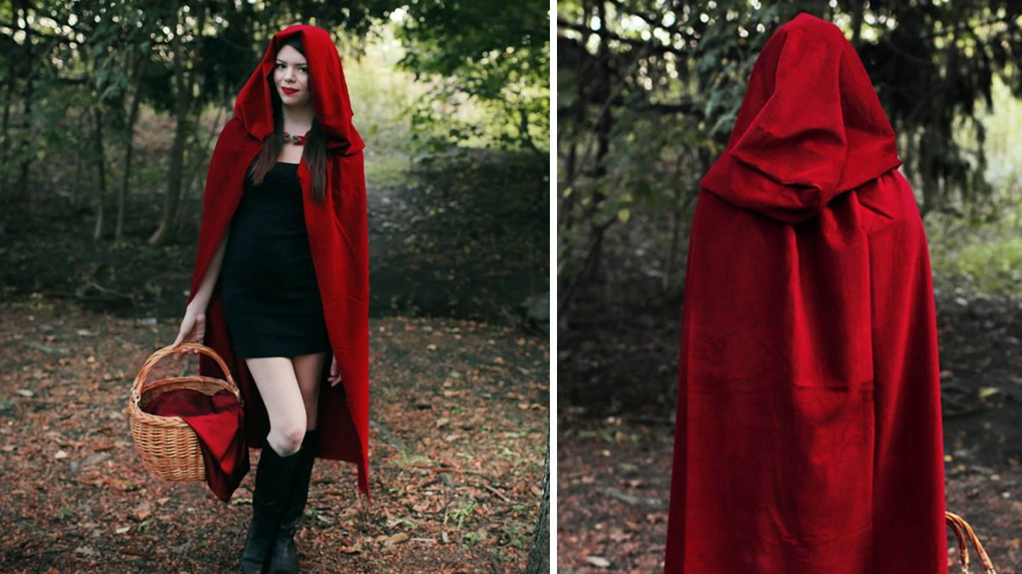 DIY Little Red Riding Hood Costume | Costumes/Costplay in ...