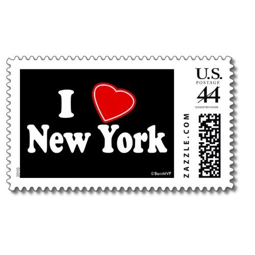 Nyc Stamp I Love Nyc Stamp I Love Ny