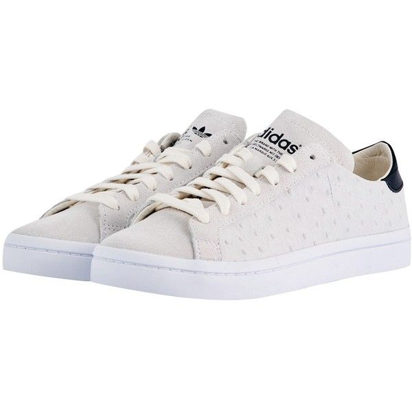 Adidas Originals Court Vantage Sneakers 91 Liked On Polyvore Featuring Shoes Sneakers Off White Shoes G Adidas Shoes Originals Sneakers Champagne Shoes