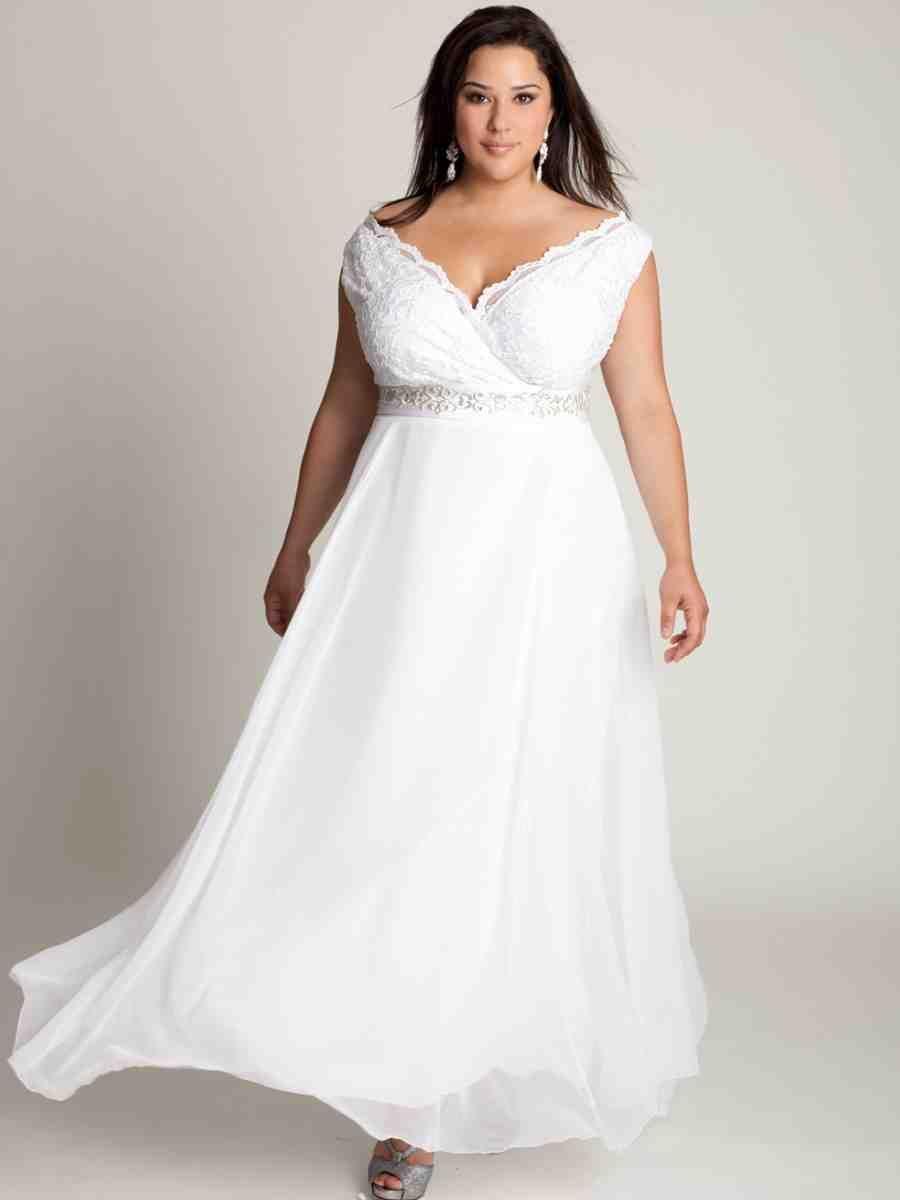 Plus Size Off The Shoulder Wedding Dresses | plus size wedding ...