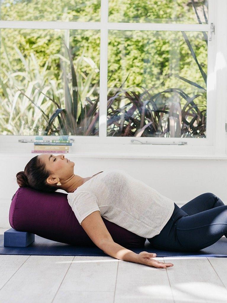 Yogamatters Bolster Yoga bolster, Yoga, Restorative yoga