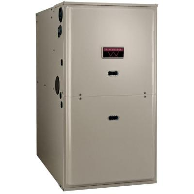 Winchester 120 000 Btu 96 2 Stage Variable Speed Multi Positional Gas Furnace W9v120 524 The Home Depot Gas Furnace High Efficiency Furnace Furnace