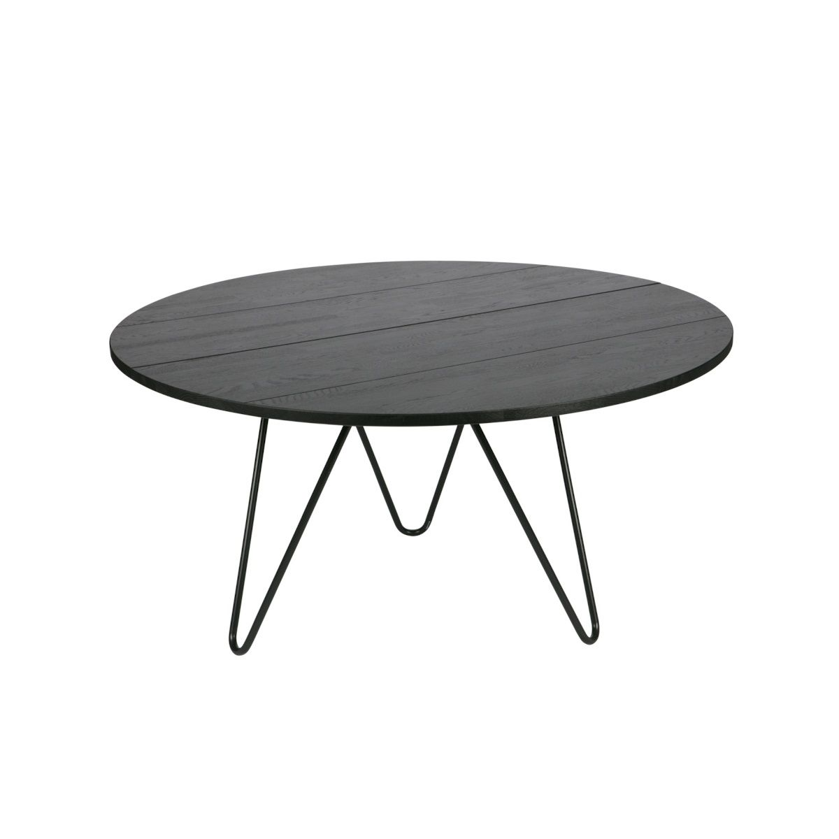 Eetkamertafel Circle Vtwonen Eettafel Circle Ø 150 Cm Zwart Dining Table And Chairs