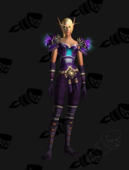 Purple Soul #Cloth #transmog   WoW transmog   Pinterest