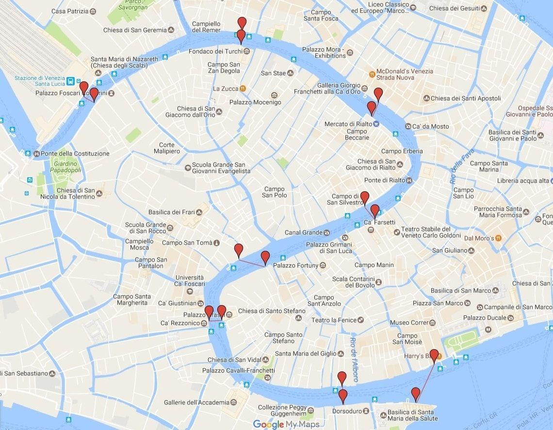 Carte Et Plan De Venise Tout Pour Organiser Au Mieux Votre Sejour Vivre Venise Plan Venise Venise Tourisme Venise