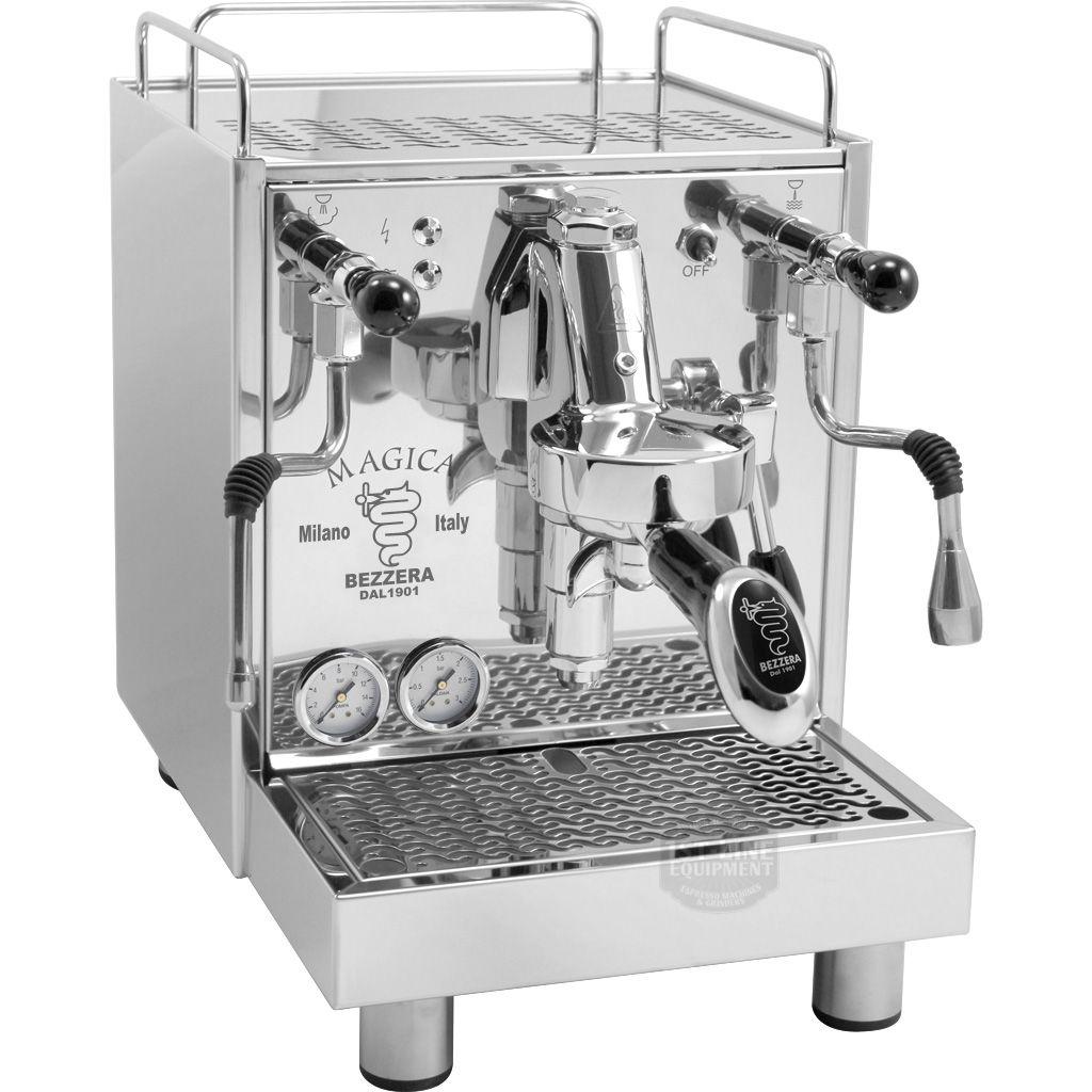 Bezzera Magica Commercial espresso and cappuccino machines
