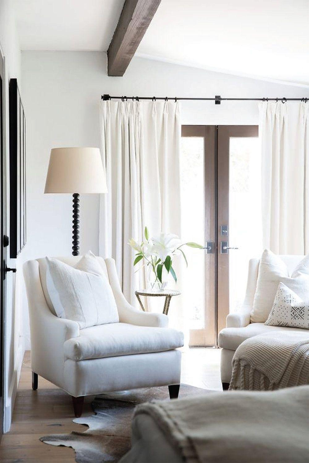 White Bright Living Room Design | Akin Design Studio Blog ...