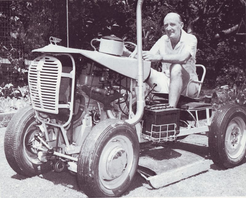 An A35 based tractor built by Brisbane city council planning officer ...