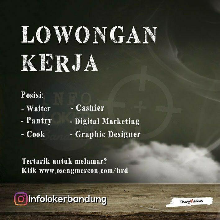 Lowongan Kerja Oseng Mercon Bandung Agustus 2018 | Marketing