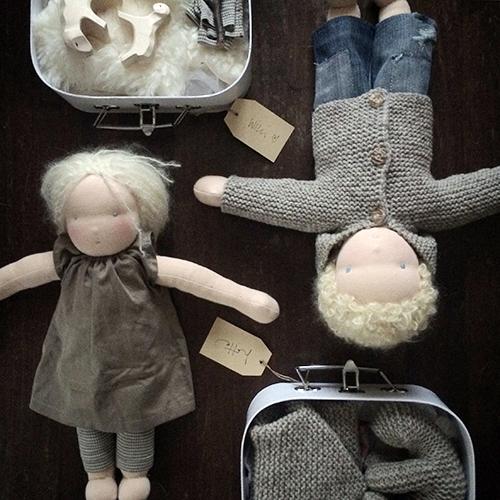 NATURKINDER: Dollmaking and Dollclothes 0193 #dollmaking