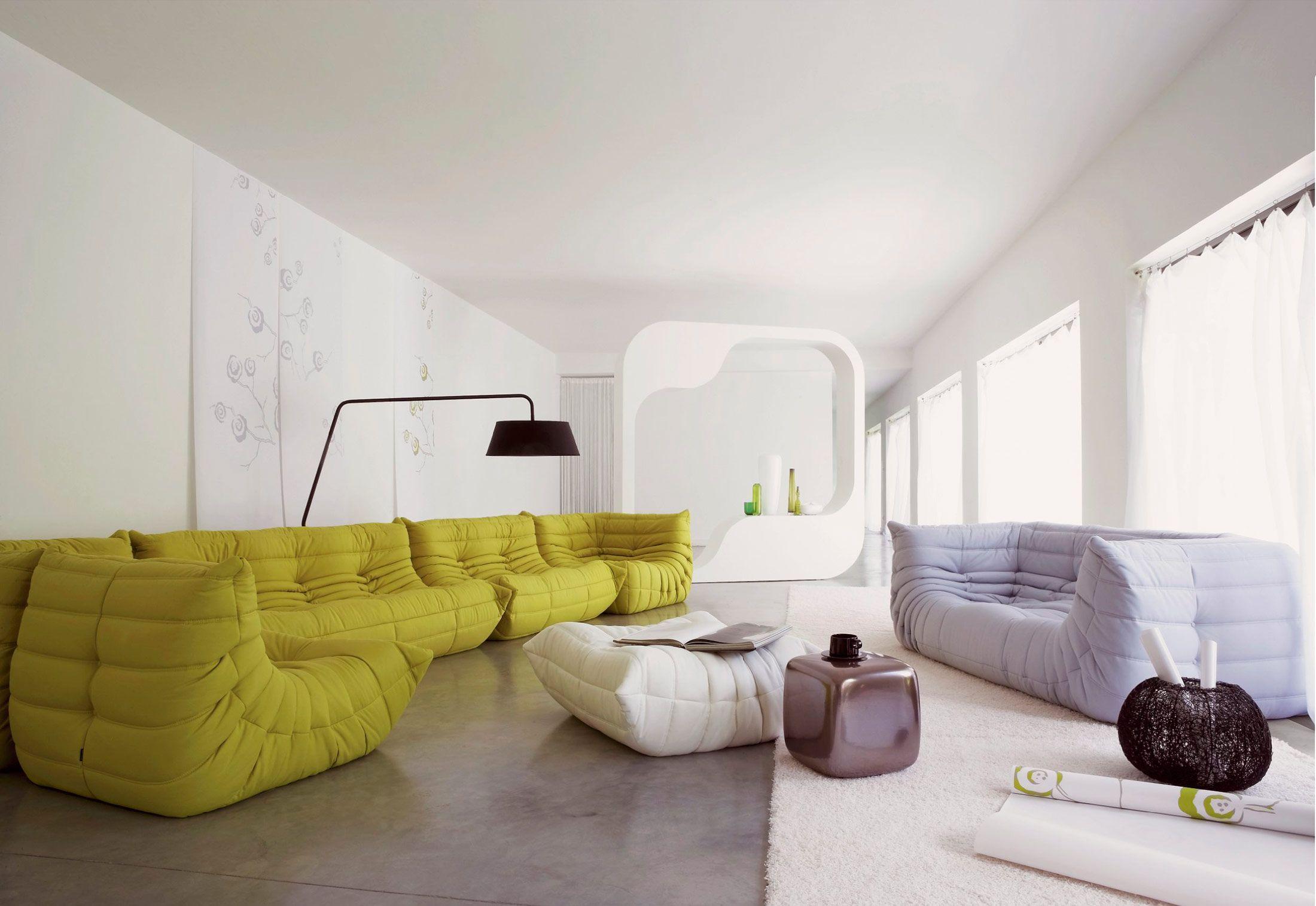 sofá modular #togo de michel ducaroy para #ligneroset con sus, Wohnzimmer dekoo