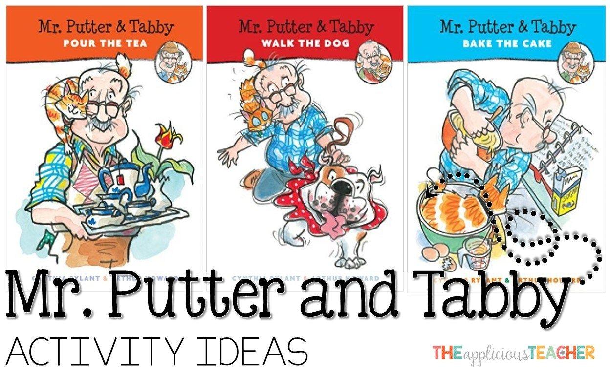 Park Art|My WordPress Blog_Mr Putter And Tabby Books Set