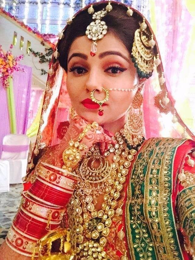 Rubina Dilaik Gorgeous Actress of Shakti Tv Serial Get Ready